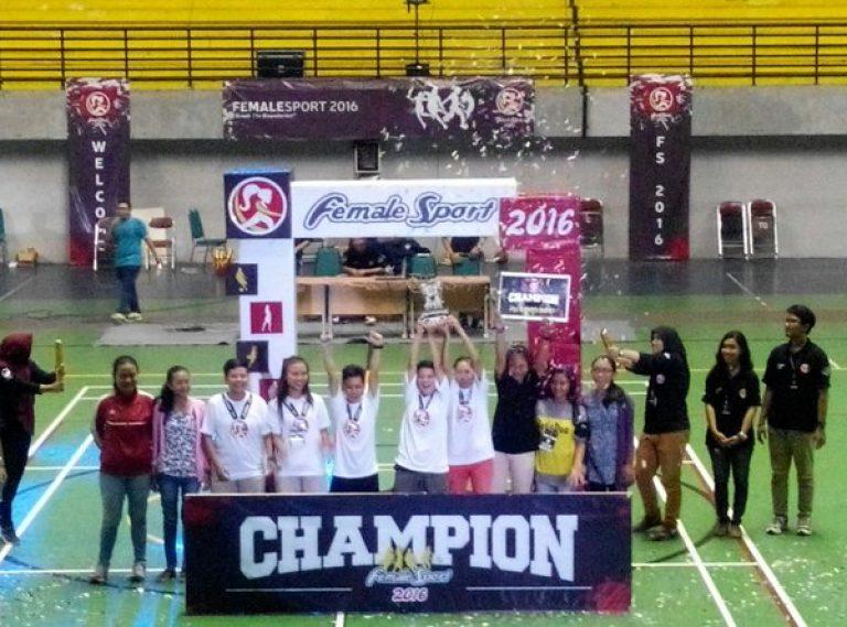 Juara I Futsal Female Sport 2016