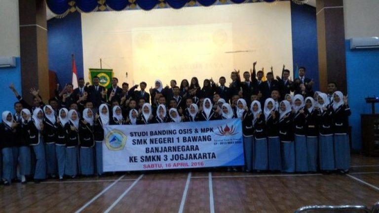 Kunjungan Studi Banding SMK N 1 Bawang
