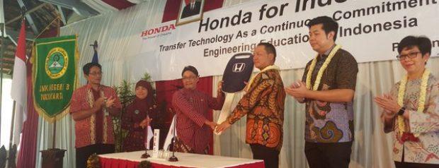 Peresmian Kelas H-Tech Honda Prospect Motor